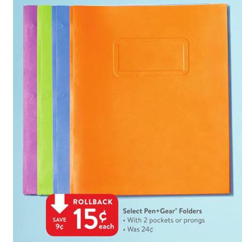 Walmart BTS Deal: 15¢ Folders! ?