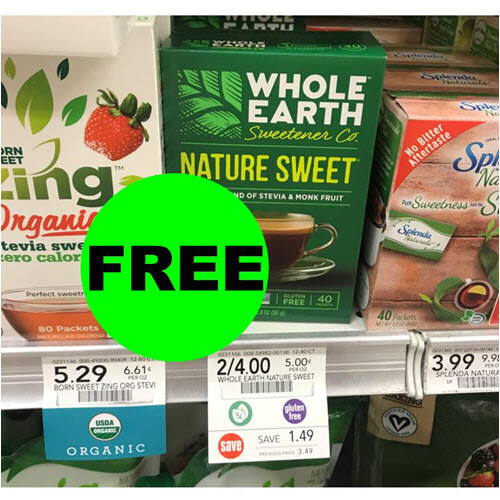 Publix Deal: FREE Whole Earth Sweeteners!