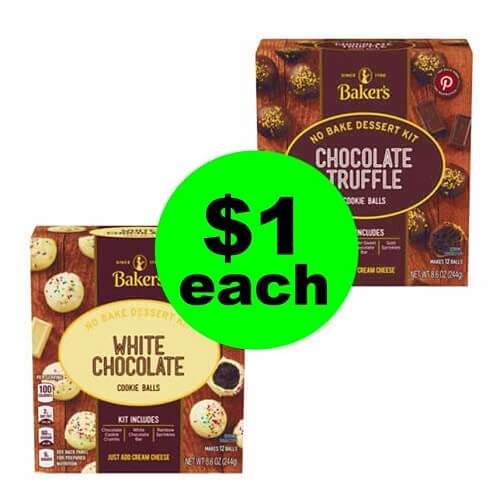 Publix Deal: 🍪 $1 Baker's No Bake Cookie Ball Kits (Save 80% Off, After Ibotta)! (Ends 2/15)