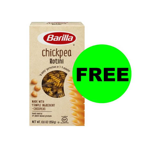 Publix Deal: 🍝 FREE Barilla Chickpea Or Red Lentil Pasta (After Ibotta)!