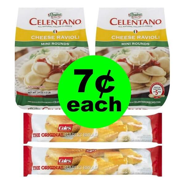 Publix Deal: 🍝 7¢ Celentano Pasta & Cole's Garlic Bread! (4/10-4/20 Or 4/11-4/20)