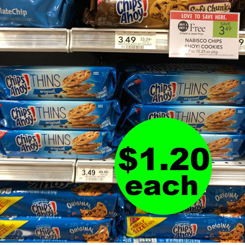 Publix Deal: 🍪 $1.20 Chips Ahoy Thins Cookies! (Ends 9/18 or 9/19)