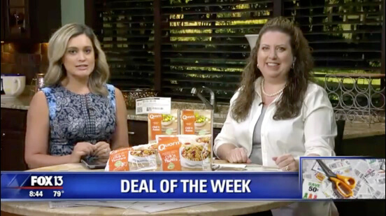 Fox Deal Of The Week: (2) FREE + $3.31 Money Maker (After Rebate) Quorn Chik'n At Publix! (Ends 9/25 or 9/26)