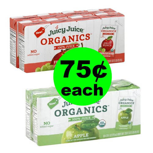 Publix Deal: 🍏 75¢ Juicy Juice Organics 100% Juice Drinks (After Ibotta)!