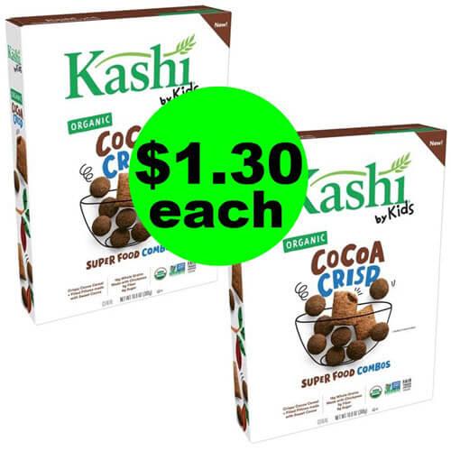 Publix Deal: 🥣 $1.30 Kashi By Kids Organic Cereal (Save 72% Off, After Ibotta)! (Ends 9/11 or 9/12)
