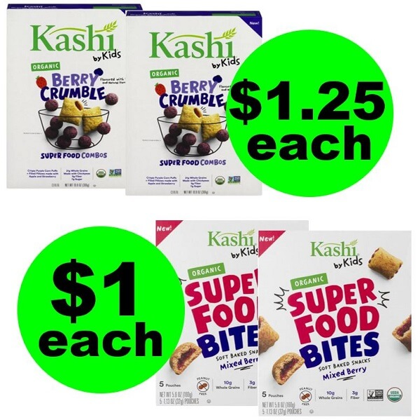 Publix Deal: 👧🏽 $1 Kashi Super Food Bites Or $1.25 Kashi Kids Cereal (After Ibotta)! (Ends 2/19 or 2/20)