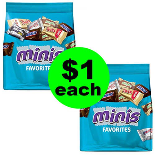 CVS Deal: $1 Mars Chocolate Minis Bags (After Ibotta)! 🍫 (9/9-9/15)