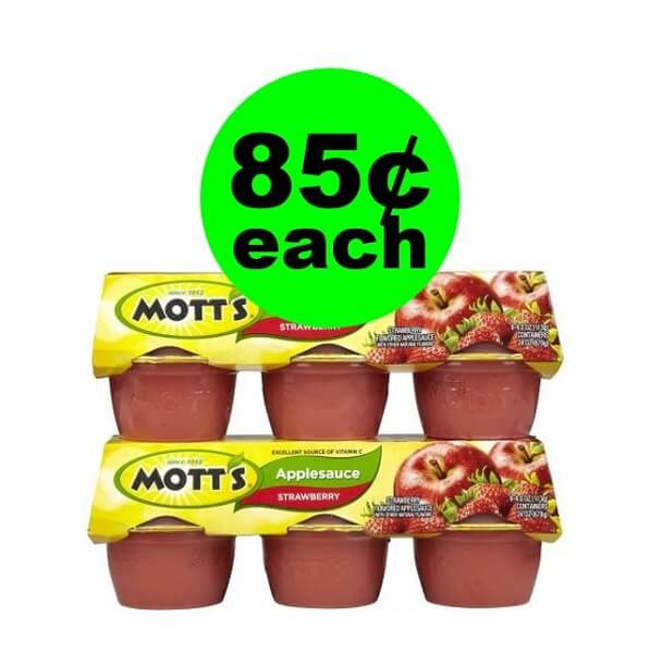 Publix Deal: 🍏 Mott's 85¢ Applesauce Or $1.05 Juice! (2/13-2/19 or 2/14-2/20)