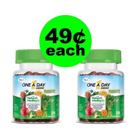 CVS Deal: 😍 49¢ One a Day Nature's Medley Multivitamins! (1/6-1/12)