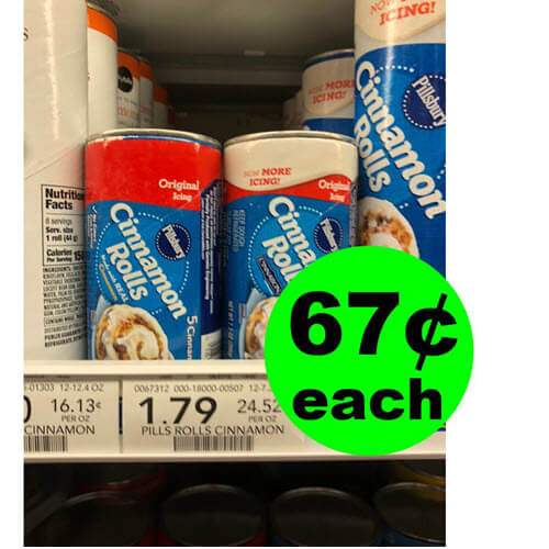 Publix Deal: 🍯 67¢ Pillsbury Crescents or Grands Rolls! (5/8-5/14 Or 5/9-5/15)
