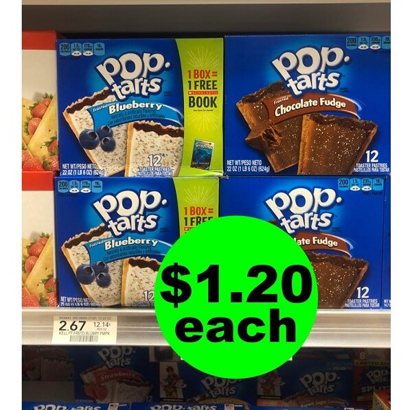 Publix Deal: 😋 $1.20 Pop-Tarts 12 Pack Toaster Pastries! (Ends 2/12 or 2/13)