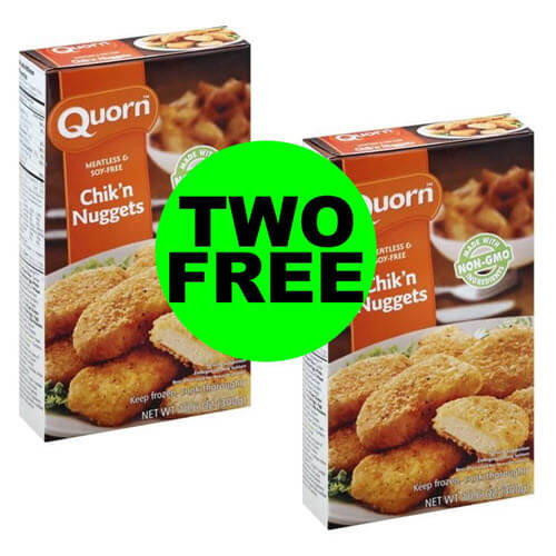 Publix Deal: (2) FREE + $3.31 Money Maker 💸 on Quorn Chik'n! (9/19-9/25 or 9/20-9/26)