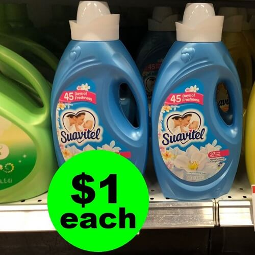 Publix Deal: 👚 $1 Suavitel Fabric Softener (After Ibotta)! (1/23-1/29 or 1/24-1/30)