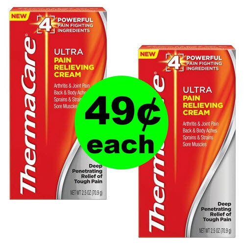 Publix Deal: 💪 49¢ Thermacare Pain Cream Or Wraps! (5/1 Or 5/2-5/3)