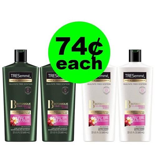 CVS Deal: 😁 74¢ Tresemme Premium Hair Care! (1/13-1/19)