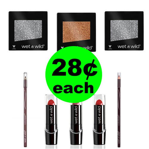CVS Deal: 💄 Wet N Wild Cosmetics As Low As 28¢ Each! (9/16-9/22)