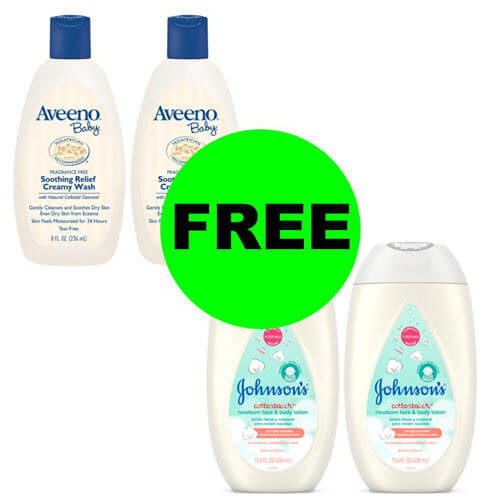 CVS Deal: ?? Print For 4 FREE Aveeno & Johnson's Baby Care Products! (10/14-10/20)