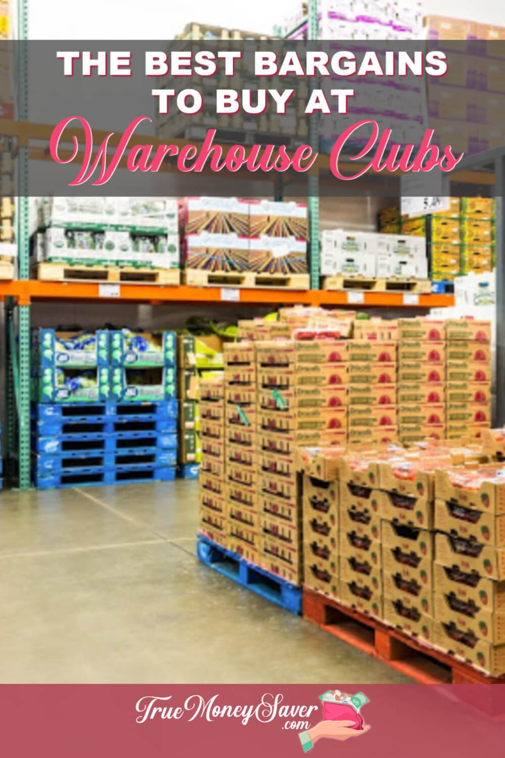 There are 10 items you should always be buying at bulk foods stores. Know exactly what the best bargains are instead of worrying about overspending. #truemoneysaver #groceryshopping #savingmoney #warehouse #samsclub #costco #bulkfoods