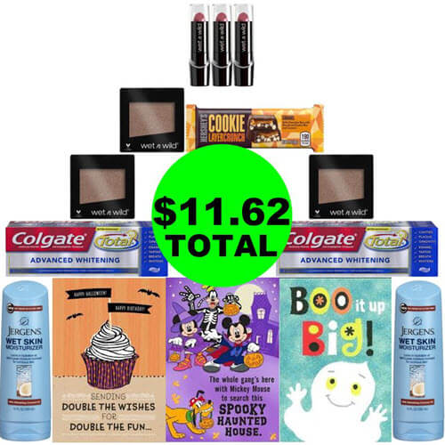 CVS Deal Idea: For Just $11.62, You Can Buy 💄 (8) Beauty Products, (3) Cards, (2) Toothpastes & (1) Candy Bar! (10/21-10/27)
