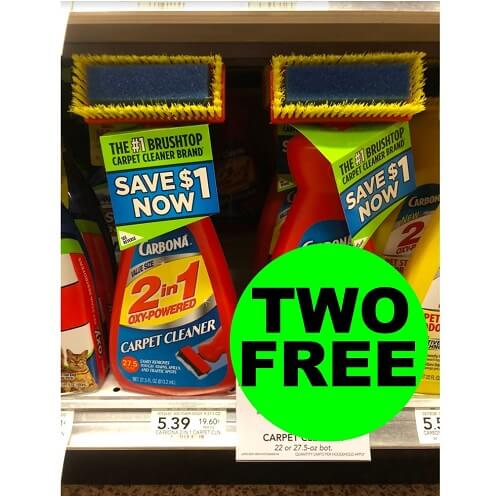 Sneak Peek Publix Deal: (2) FREE + $.61 Money Maker On Carbona Carpet Cleaners (After Ibotta)! (6/26 or 6/27-6/30)