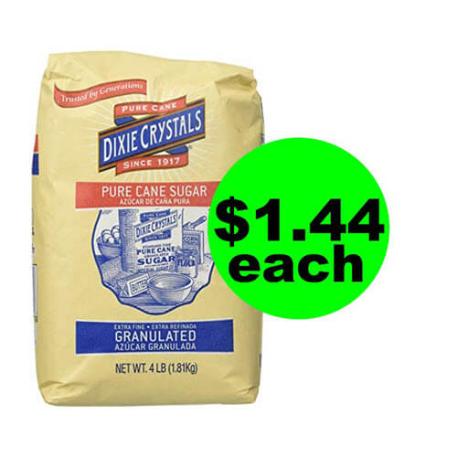 Publix Deal: $1.44 Dixie Crystal Granulated Sugar! ? (Ends 10/23 or 10/24)
