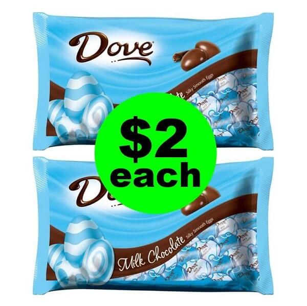 CVS Deal: 🐰 $2 Dove Easter Candy Bags! (3/17-3/23)