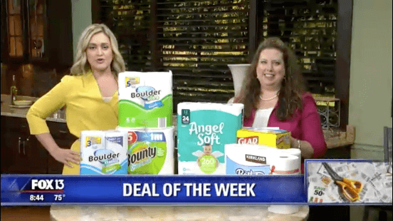 Fox Deal Of The Week: Where To Get The Best Deals On Paper Products (FREE Price Comparison Download)