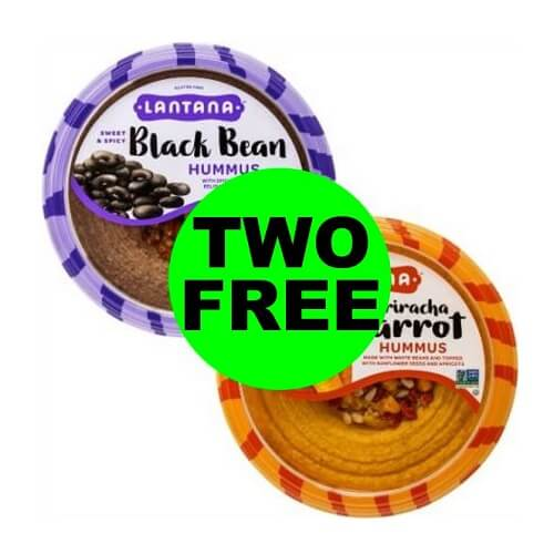 Publix Deal: (2) FREE Lantana Hummus (After Ibotta)! ? (10/24-10/30 or 10/25-10/31)