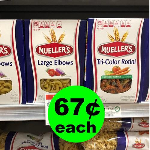 Publix Deal: 67¢ Mueller's Pasta! 🍴 (11/14-11/21 or 11/15-11/21)