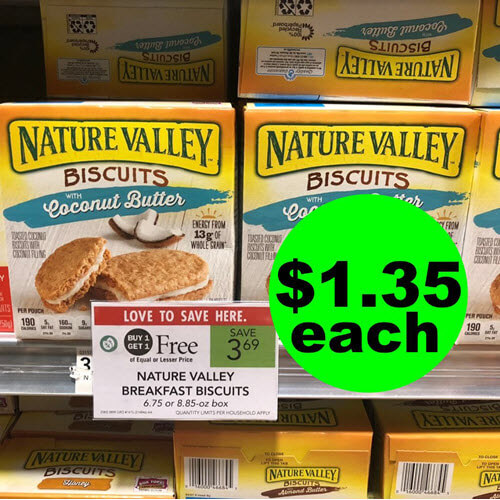 Publix Deal: $1.35 Nature Valley Breakfast Biscuits! ? (10/24-10/30 or 10/25-10/31)