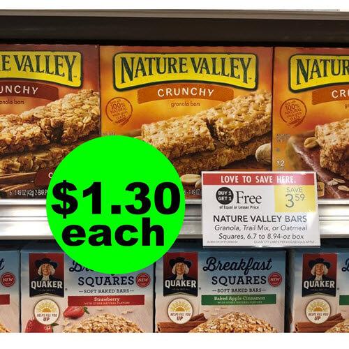 Publix Deal: ? $1.30 Nature Valley Granola Bars! (12/12-12/18 or 12/13-12/19)