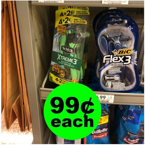 Publix Deal: 🐻 99¢ Schick Xtreme3 Disposable Razors (Save 87% Off)! (1/20-1/22 or 1/23)
