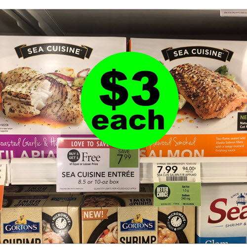 Publix Deal: $3 Sea Cuisine Fish Fillets (Reg. $8)! ? (10/3-10/9 or 10/4-10/10)