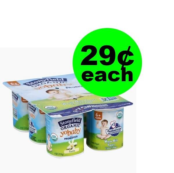 Publix Deal: 👶 29¢ Stonyfield YoBaby Organic Yogurt Multipacks (After Ibotta)! (Ends 5/7 Or 5/8)