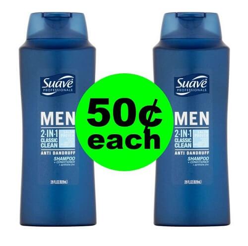 CVS Deal: 👨🌾 50¢ Suave Men's Hair Care! (1/20-1/26)