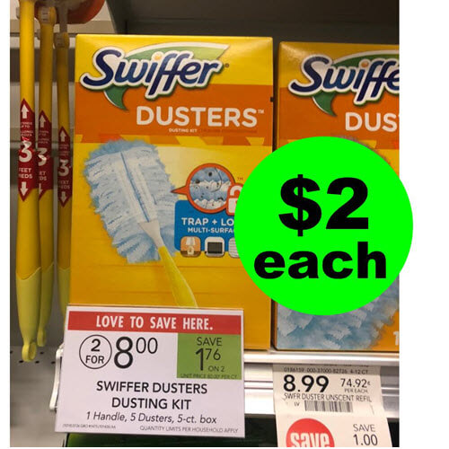 Publix Deal: $2 Swiffer Dusters & Refills! 🐰 (Ends 10/23 or 10/24)