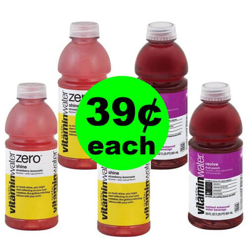 Publix Deal: ? 39¢ Vitaminwater Drinks (After Ibotta)! (Ends 10/12)