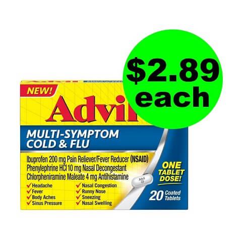 Publix Deal: ? $2.89 Advil Multi-Symptom Cold & Flu Medicine (Save 71% Off, After Ibotta)! (12/1-12/14)