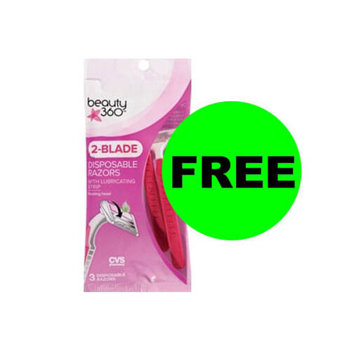 CVS Deal: ? FREE Beauty 360 Disposable Razors! (11/22-11/24)