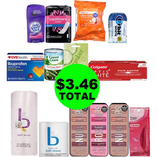 CVS Deal Idea: 🛒 For Just $3.46, You Can Buy (8) Beauty Products & (4) Grocery Products! (11/22-11/24)