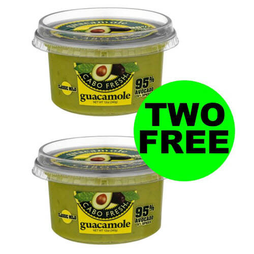 Fox Deal Of The Week: (2) FREE Cabo Fresh Guacamole Tubs At Publix! ? (Ends 11/6 or 11/7)