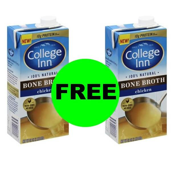 Publix Deal: 🍜 (2) FREE + $1 MM On College Inn Bone Broth! (Ends 4/9 Or 4/10)