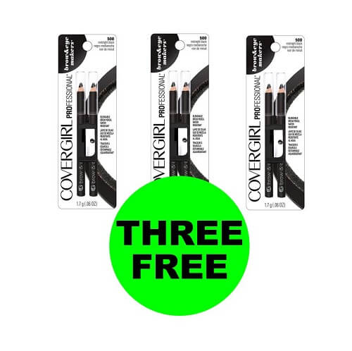 CVS Deal: ? (3) FREE CoverGirl Eyeliners! (12/16-12/22)