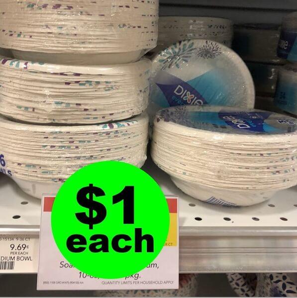 Publix Deal: $1 Dixie Plates Or Bowls! (6/19-6/25 Or 6/20-6/26)