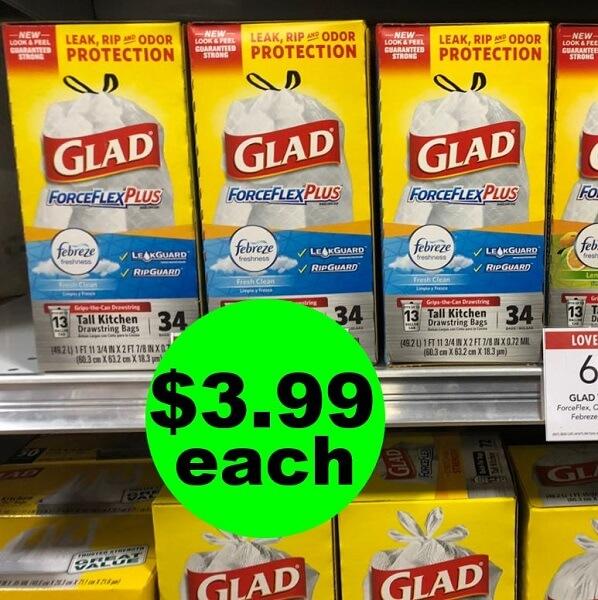 Publix Deal: 🗑️ $3.99 Glad Trash Bags (After Ibotta)! (3/20-3/26 Or 3/21-3/27)