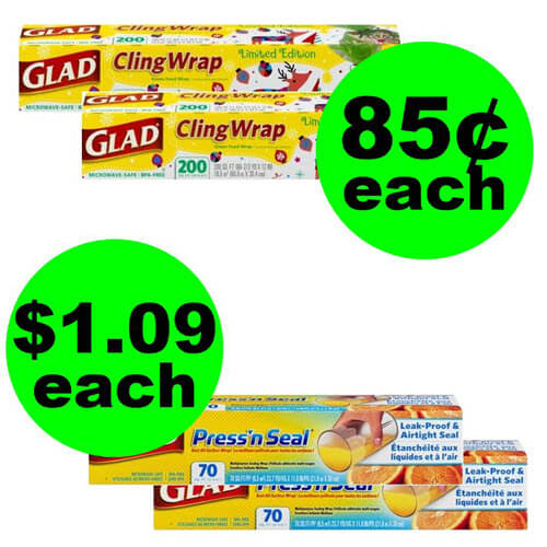 Publix Deal: 🍗 Print For 85¢ Glad Cling Wrap or $1.09 Press'n Seal Wrap! (11/14-11/21 or 11/15-11/21)