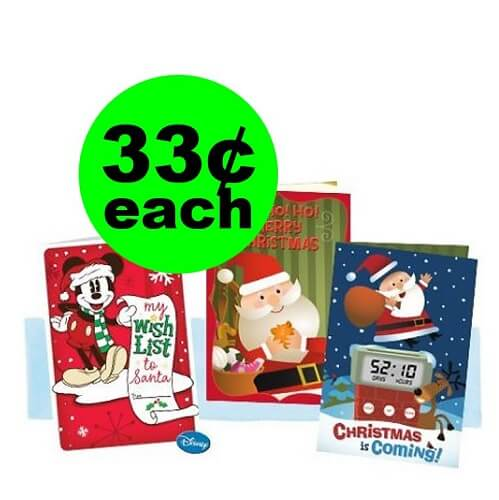 CVS Deal: ❤️ 33¢ Hallmark Cards! (Ends 12/15)