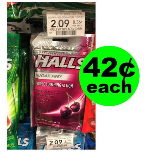 Publix Deal: ? 42¢ Halls Cough Drops! (12/5-12/11 or 12/6-12/12)