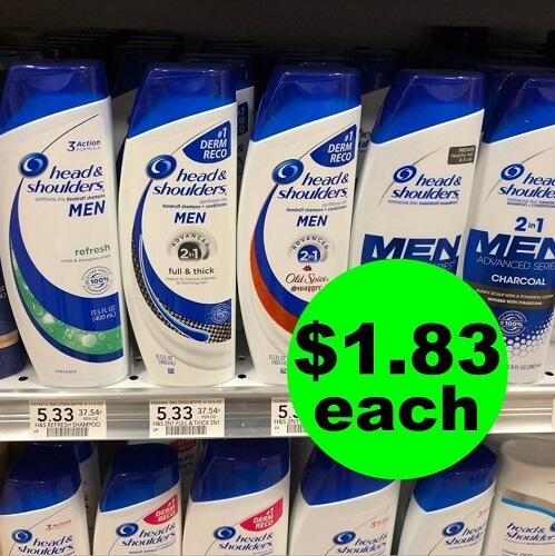 Publix Deal: ??? $1.83 Head & Shoulders Hair Care (Save 66% Off)! (12/1-12/8)