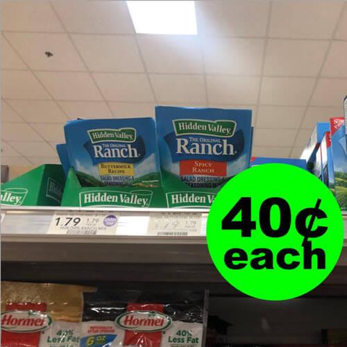 Publix Deal: ? 40¢ Hidden Valley Seasoning Mixes! (12/8-12/21)